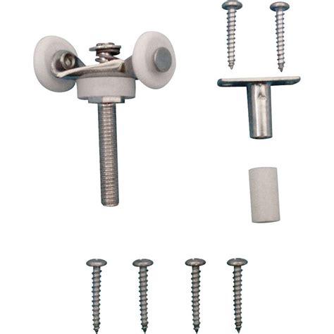 bifold door hardware prime line bi fold door tandem roller top mount 7 8 in