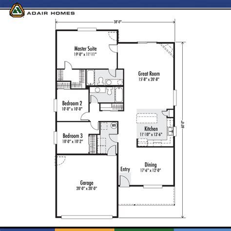 adair homes floor plans adair homes the whidbey 1634 home plan