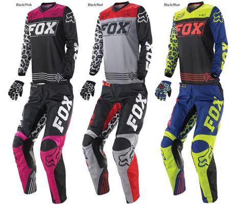 fox womens motocross fox 2014 womens hc 180 jersey pant combo women 39 s mx