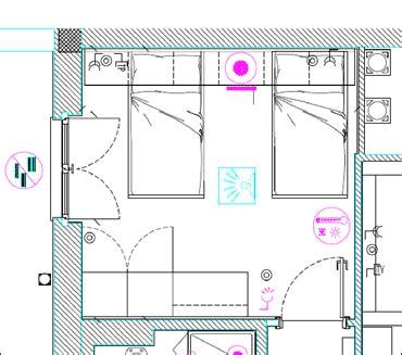 Planimetria Da Letto - casa satellite la casa con dispositivi intelligenti per i