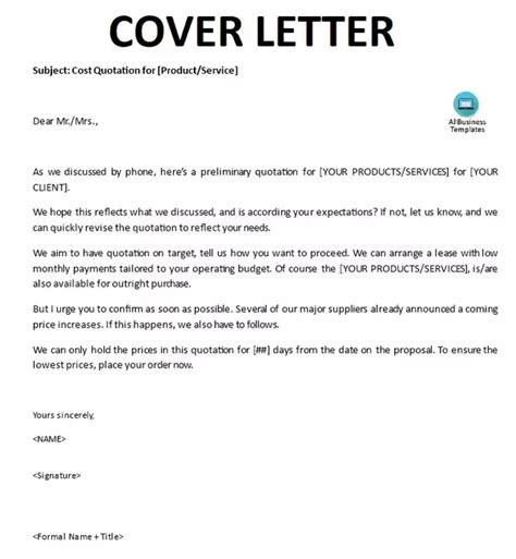 cover letter  word quora