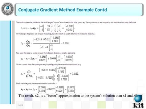 conjugate method template ppt 2nd december 2013 ashish rauniyar stu id 20136126 it convergence engineering powerpoint