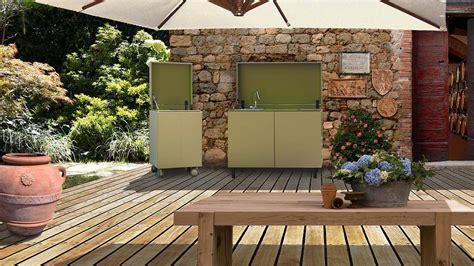 cucine da terrazzo cucinare e vivere outdoor ambiente cucina