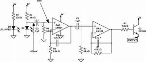 infrared unknown voltage in ir pulse sensor circuit With sensitive ir switch circuit