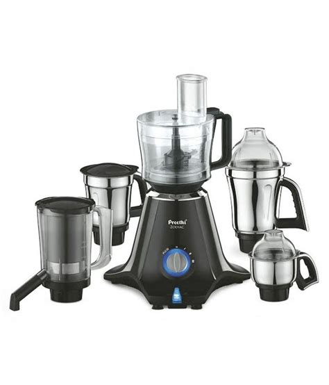 kitchen canisters preethi zodiac mg 218 750 watt mixer grinder black light