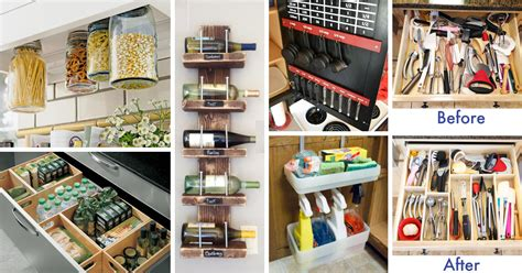tiny kitchen storage ideas 45 small kitchen organization and diy storage ideas