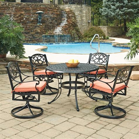 home styles biscayne black 5 cast aluminum outdoor