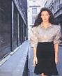 Jennifer Hall, 1987   Back cover from British singer ...