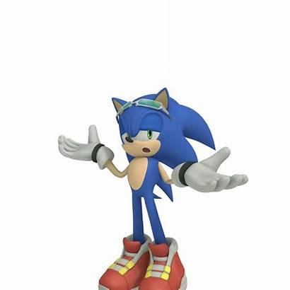 Sonic Riders Shadow Hedgehog Dibujos Boom Shrug