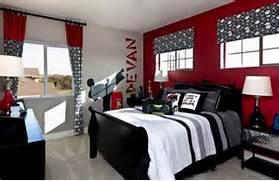 Red Black Grey White Bedroom by Ninja Karate Bedroom For A Teen Boy Red Black White Bedroom Paint Is R