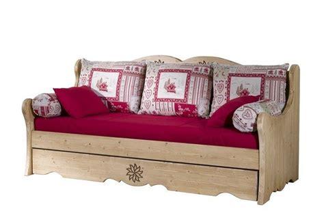 canap lit gigogne banquette lit gigogne aravis meubles