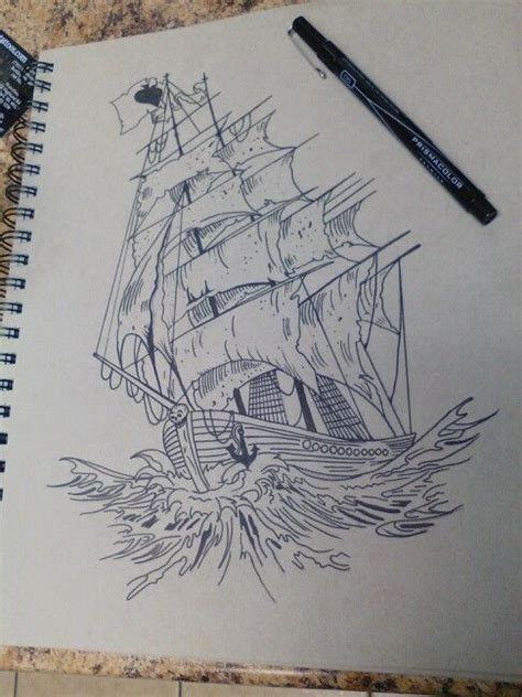 Boat Drawing Tattoo by 13 Best Images About Drawings On Pinterest