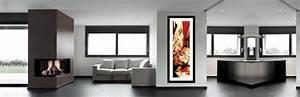 Tableau Salon Design : comment disposer vos tableaux modernes sur le mur ~ Teatrodelosmanantiales.com Idées de Décoration