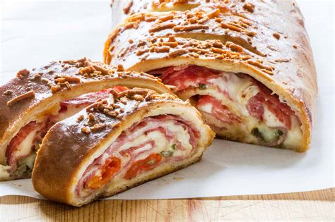 A Stromboli by Stromboli Stuffed With Ham Cheese Simplyrecipes