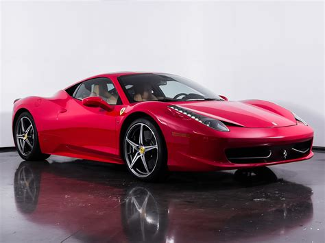 458 Italia For Sale by Used 2015 458 Italia For Sale Plano Tx Vin