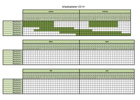 kalender urlaubsplanung als excel vorlage kostenlos