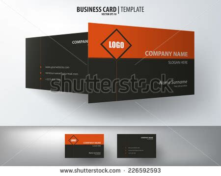 and gas business card templates business cards gas industry stock vector