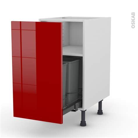 meuble de cuisine porte coulissante meuble de cuisine poubelle coulissante stecia 1