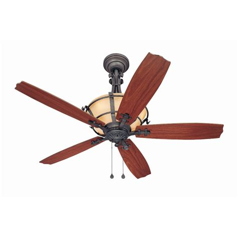 harbor breeze fans reviews shop harbor breeze lynnhaven 54 in vintage iron downrod