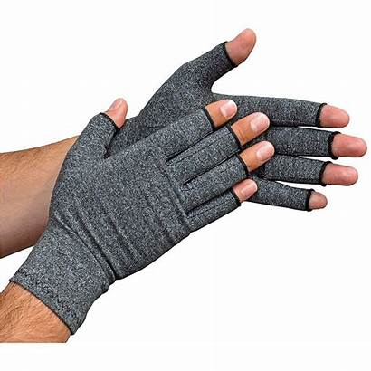 Compression Support Gloves Arthritis Hand Finger Anti