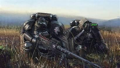 Guard Raven 40k Warhammer Sniper Soldat Team