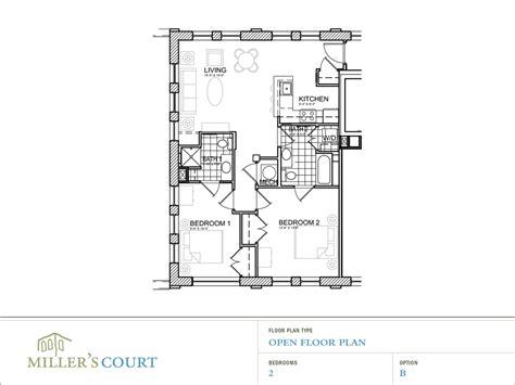2 open floor plans floor plans