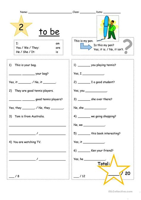 usable positive and negative sentences worksheets
