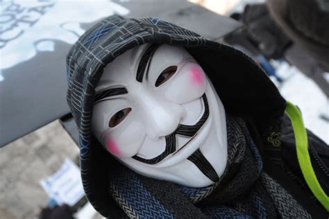 Anonymous Hackers Mask