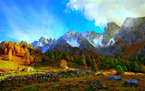 Mountain View Hd Wallpaper Wallpaper