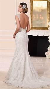 stella york essence of australia lace over moscato satin With stella york moscato wedding dress