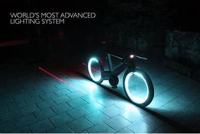 Tron Bicycle Called Cyclotron Inspired Concept Smart