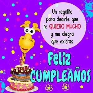 Hermosas Imagenes De Feliz Cumpleaños Te Quiero Mucho Mas Imagenes Para Cumpleaños