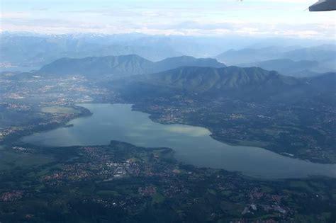 der lago  varese ort von erheblicher landschaftlicher