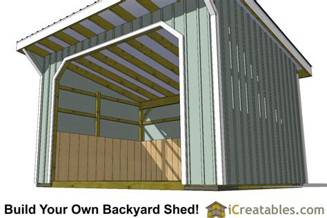12x16 wood shed material list 12x16 run in shed plans with wood foundation
