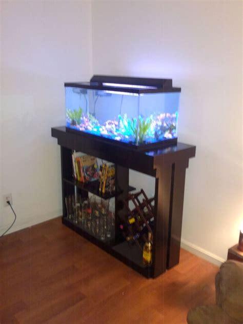 custom  aquarium stand  colemans carpentry