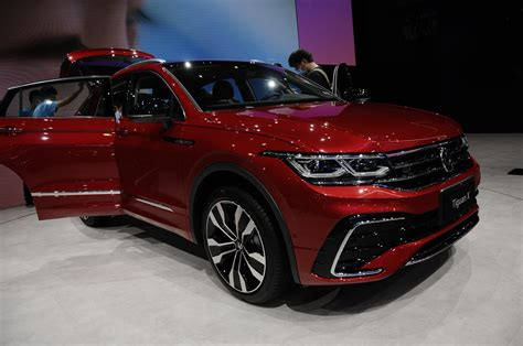 Volkswagen Tiguan X Coupe Debuts in China with 2.0-Liter ...