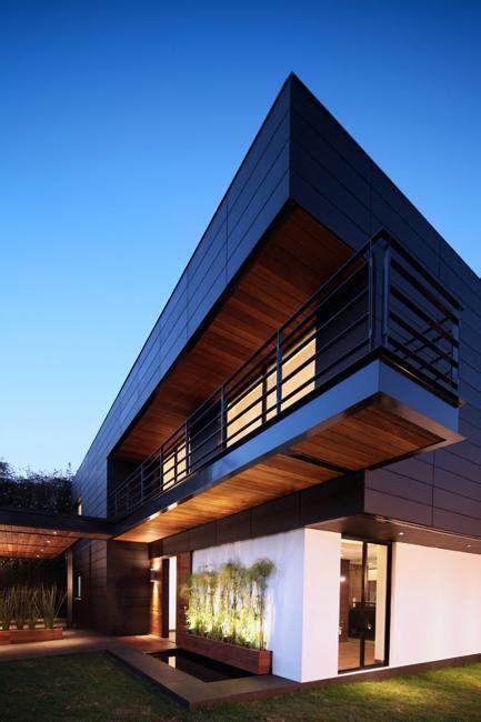 contemporary house design  exterior ceramic panels
