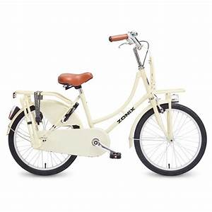 Hollandrad 20 Zoll : 20 zoll hollandrad zonix creme mit frontr ger fahrrad ass ~ Jslefanu.com Haus und Dekorationen