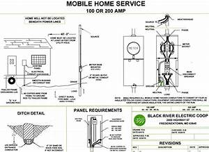 Mobile Home Service Wiring Diagram