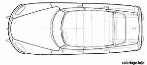 Voiture Vu De Haut : coloriage dessin voiture vue de dessus ~ Medecine-chirurgie-esthetiques.com Avis de Voitures