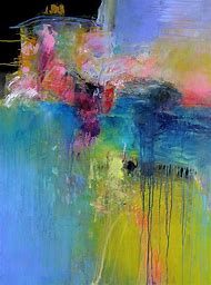 Abstract Watercolor Painting Artists