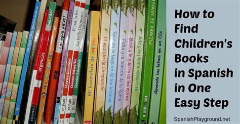 find childrens books  spanish   easy step