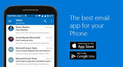 best email app for iphone outlook app the best email app for your phone foetron