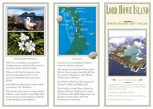 lord howe island project brochure With island brochure template
