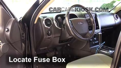 2007 Ford Explorer Fuse Box Location by 2008 Ford Explorer Sport Trac Fuse Box Location Wiring