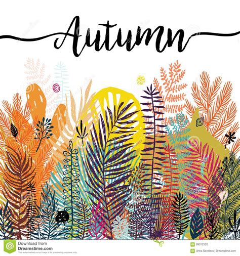 Fall Backgrounds Trendy by Multicolor Trendy Tropical Autumn Background
