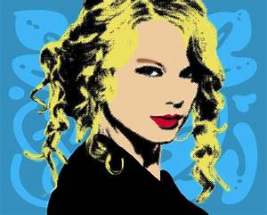 Taylor Swift pop art attempt by stare-at-you on DeviantArt