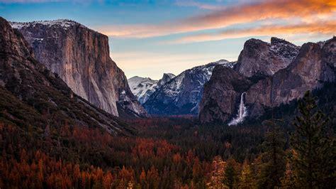 Autumn Yosmite National Park Wallpaper Background