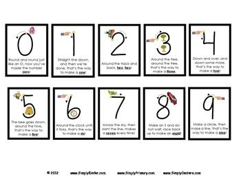 number poems posters printables  snap block center