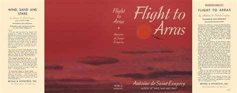 Flight To Arras  Antoine De Saintexupery